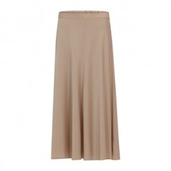 Coster Rok lang satin stretch