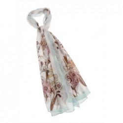 Gigue Sjaal lang met print
